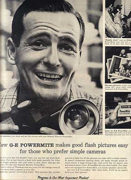 General Electric's PowerMite Flash (1956)