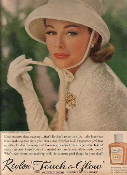Revlon's Touch & Glow Moisturizing Liquid Make-Up (1962)