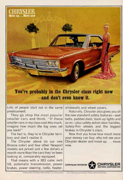 Chrysler Newport Hardtop Turbine Bronze (1966)