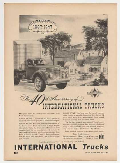 IH International Harvester KB Truck 40th Anniv (1947)