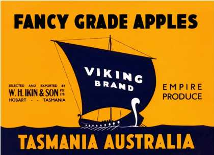 Viking Brand Fancy Grade Apples