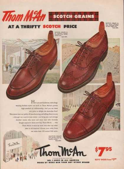 Thom Mcan Scotch Grain Mens Dress Shoes (1951)