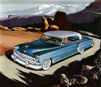 Chrysler New Yorker Deluxe Newport 			Larry Baranovic (1954)