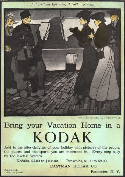 Kodak &#8211; Bring your Vacation Home in a Kodak (1905)