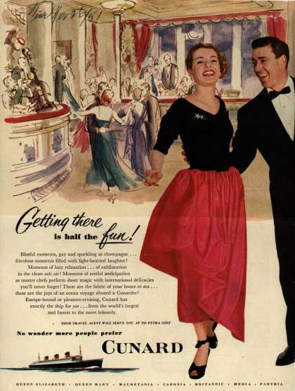 Cunard White Star Line's Cunard White Star – Getting there is half the fun (1951)
