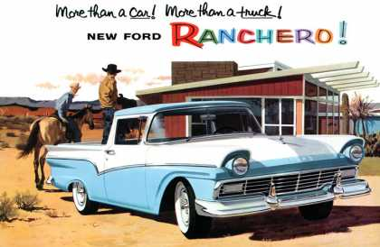 Hard worker that loves to play! Ford Ranchero (1957)