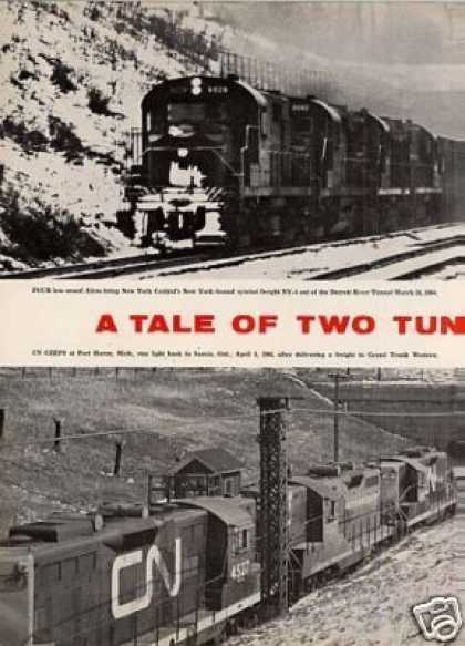 """A Tale of Two Tunnels""Article (1964)"