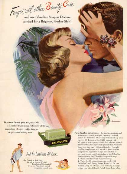 Palmolive Company's Palmolive Soap – Forget all other Beauty Care (1949)