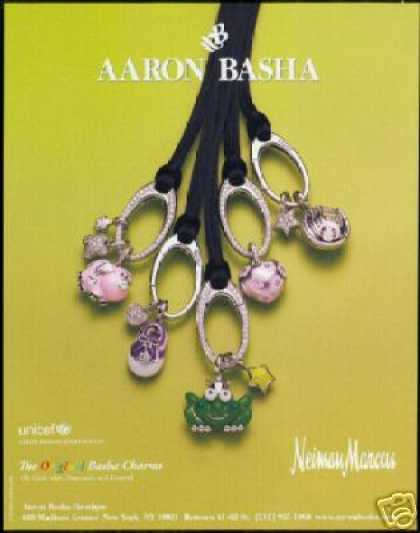 AAron Basha Unicef Jewelry Charms Photo (2006)