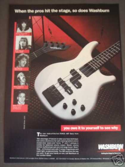 Washburn B30 Bass Guitar Photo (1986)