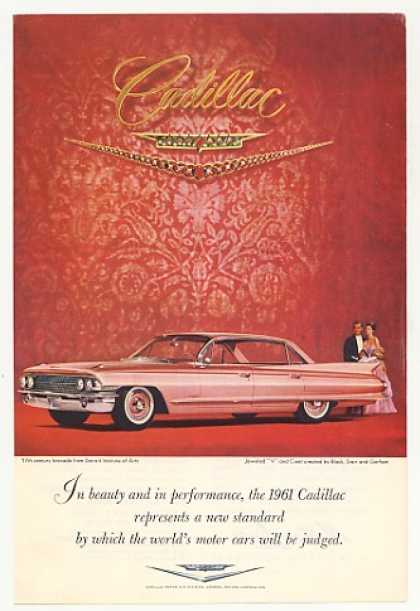 Pink Cadillac Beauty Performance Standard Photo (1961)
