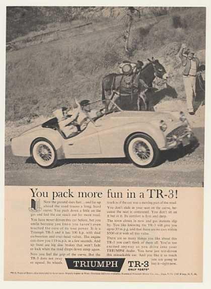 Triumph TR-3 Pack More Fun Mule (1960)
