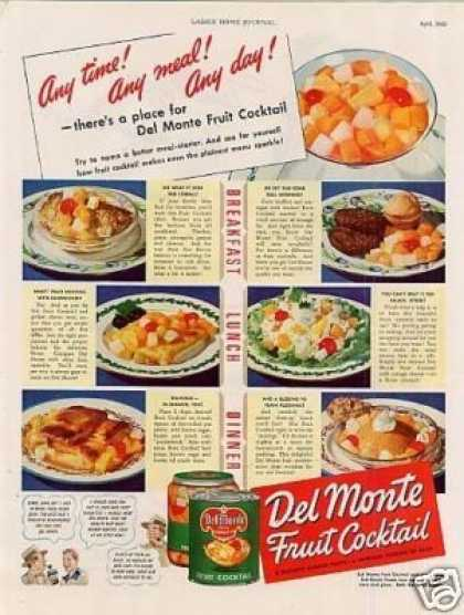 Del Monte Fruit Cocktail (1942)