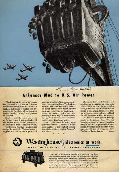 Westinghouse Electric & Manufacturing Company's Corporation – Arkansas Mud to U.S. Air Power (1943)