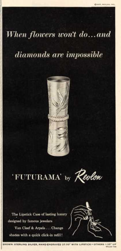 Revlon Futurama Lipstick Case By Van Cleef (1957)
