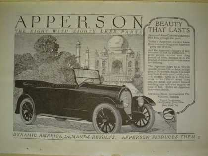 Apperson Automobile Car AND Nabisco National Biscuit Co (1920)