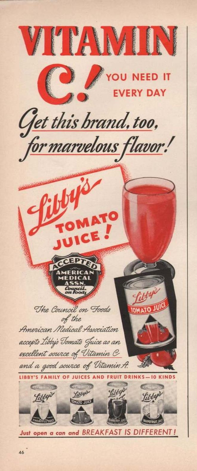 Vintage Drinks Advertisements Of The 1940s Page 17