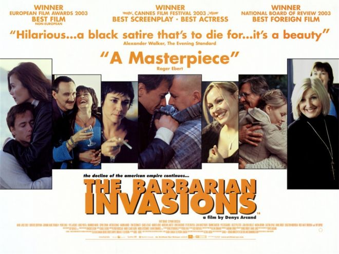 The Barbarian Invasions (2003). via. buy.