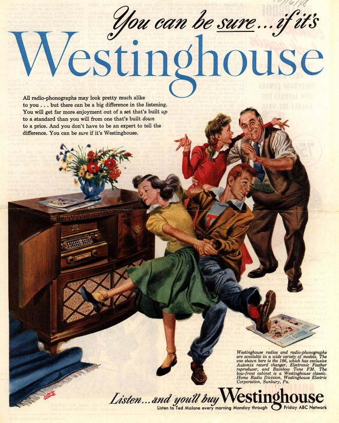 Vintage Electronics/ TV of the 1940s