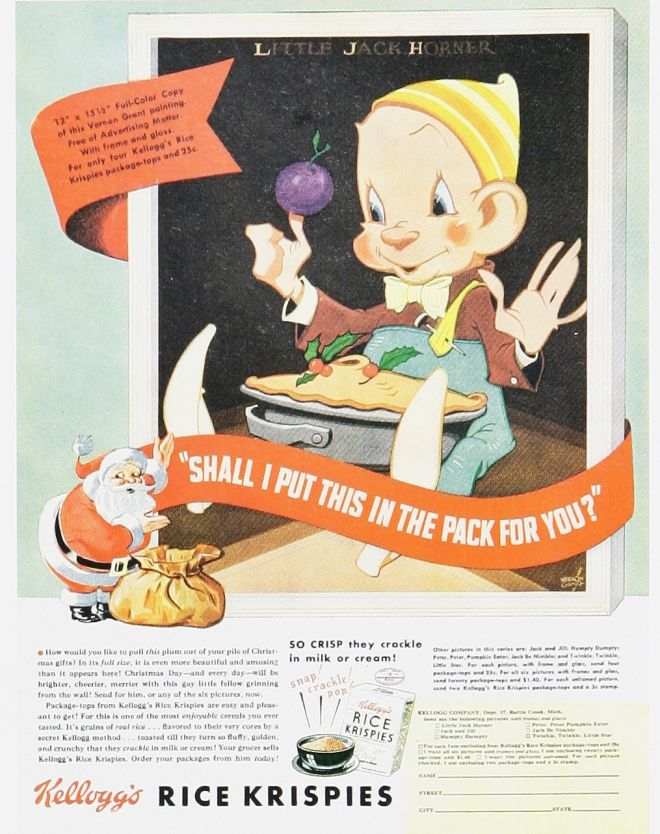 Vintage Xmas Advertisements of the 1930s