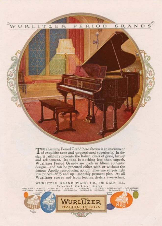 Vintage Music Advertisements of the 1920s (Page 4)