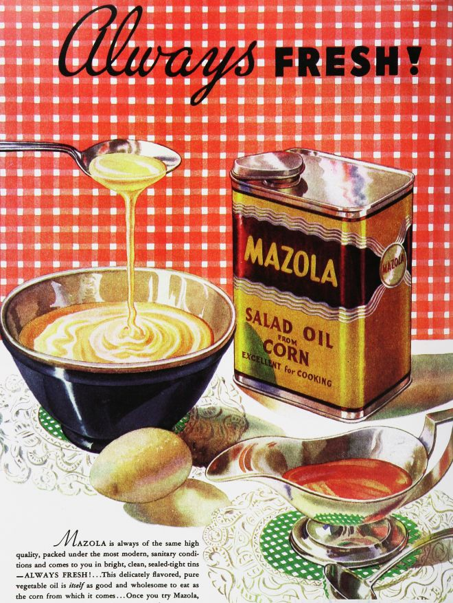 Vintage food advertisements of the 1930s page 34 for Cuisine 1930