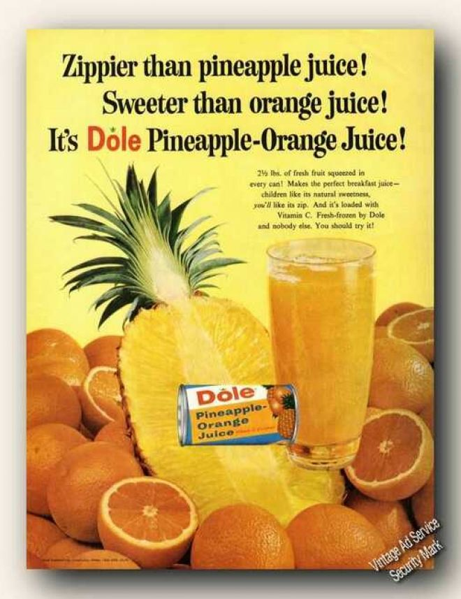 Vintage Drinks Advertisements Of The 1960s Page 7