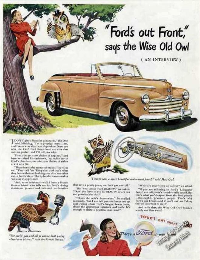 Vintage Car Advertisements Of The 1940s Page 90