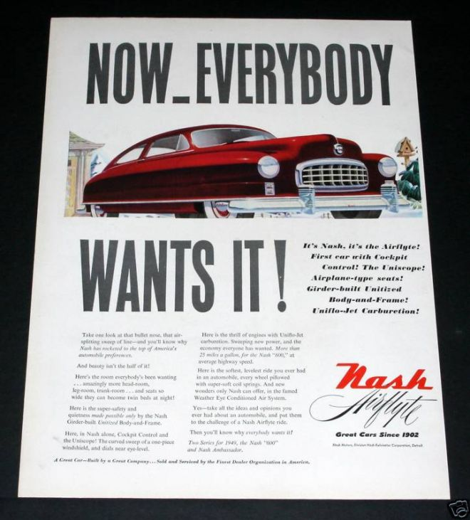 Vintage Car Advertisements Of The 1940s Page 31