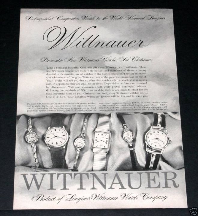 Vintage Jewelry And Watches Ads Of The 1950s (Page 2