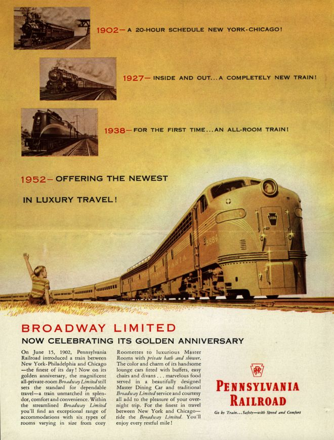 Vintage Transportation Ads of the 1950s (Page 15)