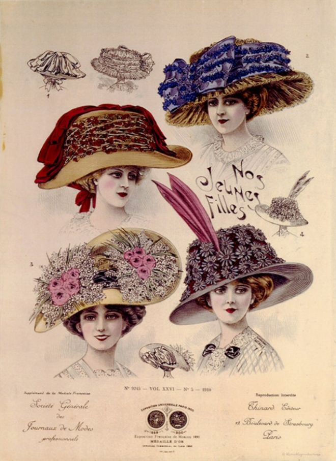 early 1900s fashion hats - photo #3