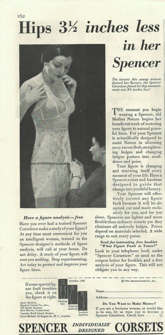 Vintage Clothes Fashion Ads Of The 1930s
