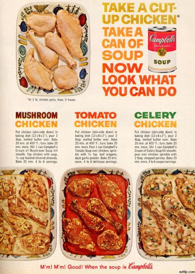 Vintage Food Advertisements Of The 1960s Page 21