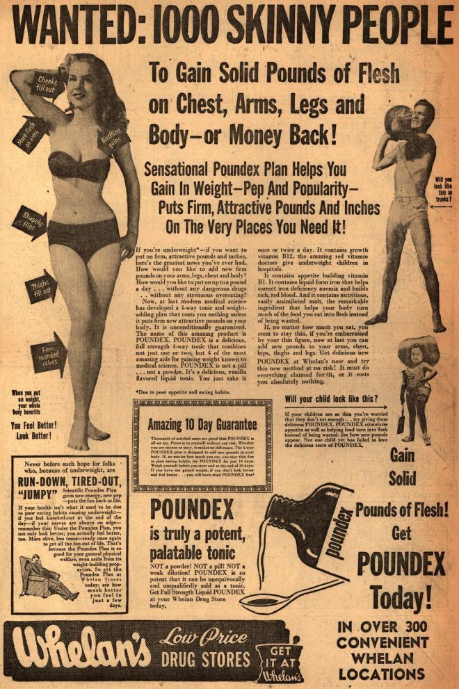advertisements and the body image Marketing, eating disorders and body image  girls feel about how they look is  linked to watching television commercials and reading fashion magazines.