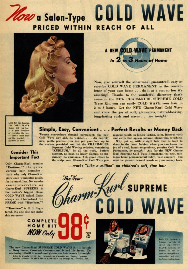 Vintage Beauty And Hygiene Ads Of The 1940s Page 65