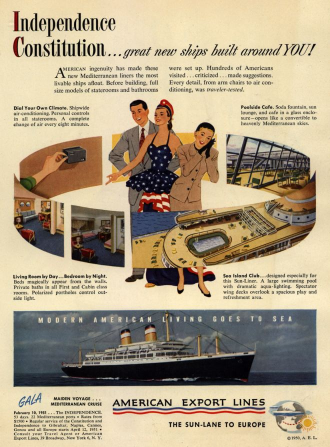 Vintage Transportation Ads Of The 1950s Page 9