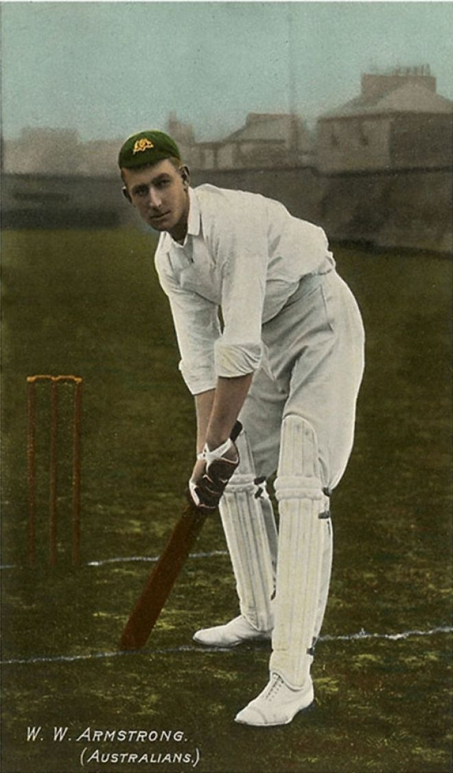 photos of cricketers Vintage