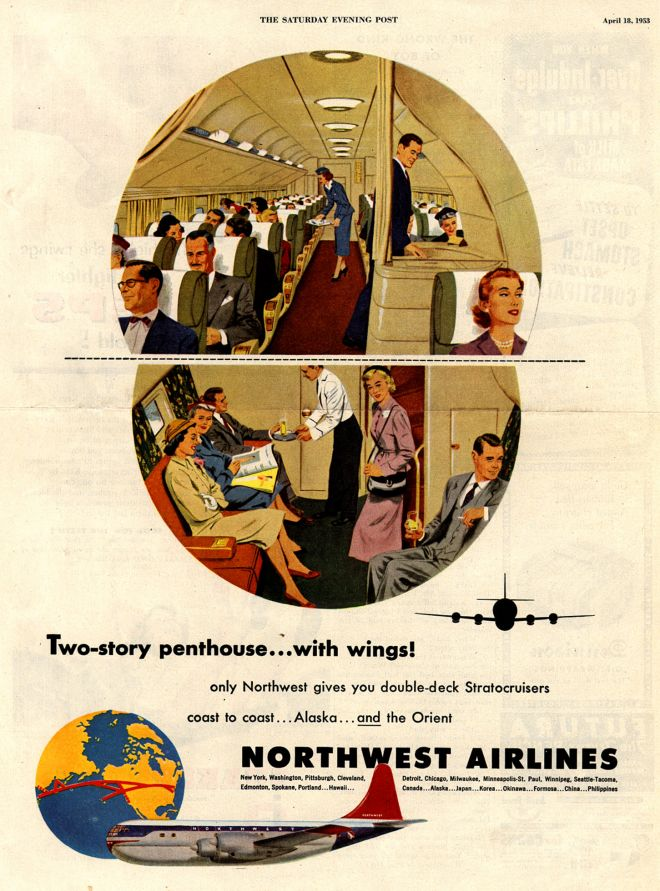 Vintage Airlines And Aircraft Ads Of The 1950s Page 50