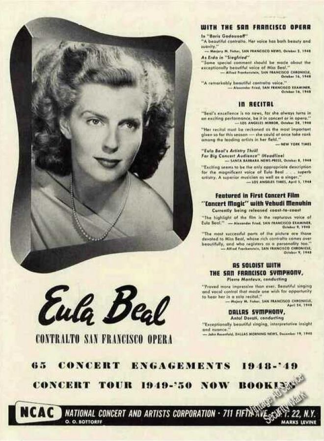 Eula Beal Net Worth