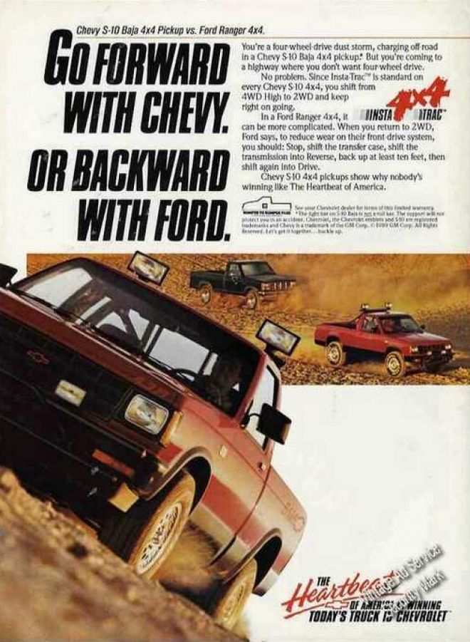 Vintage Transportation Ads of the 1990s