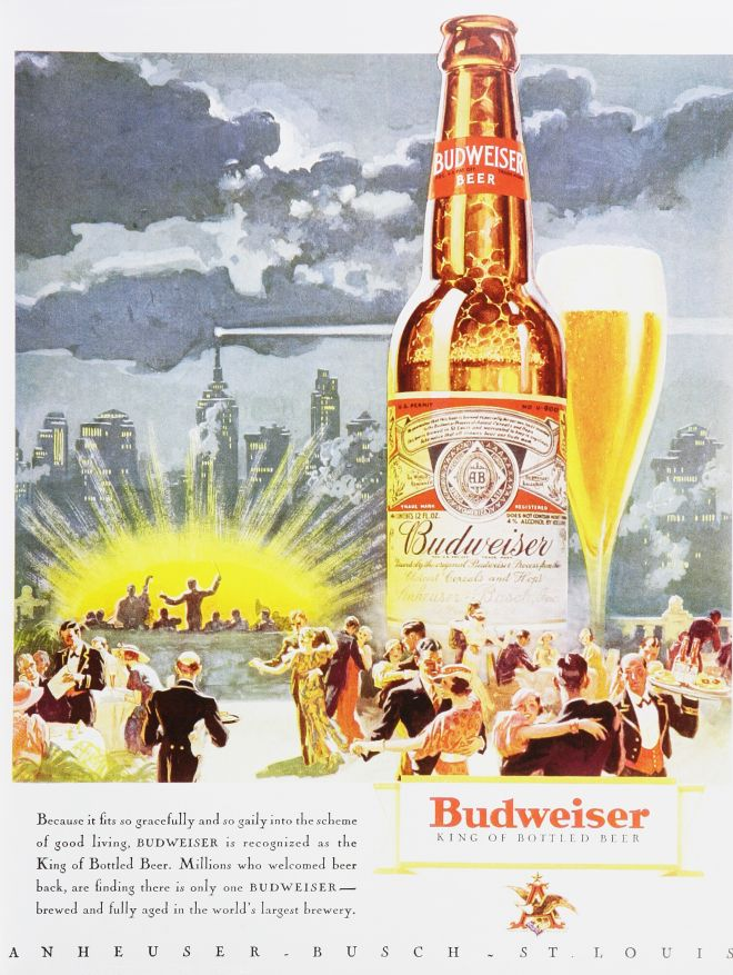 an analysis of the advertisement for budweiser beer How to market beer learn about the components, process and method to the madness of marketing and advertising beer products find it all at marketing-schoolsorg.