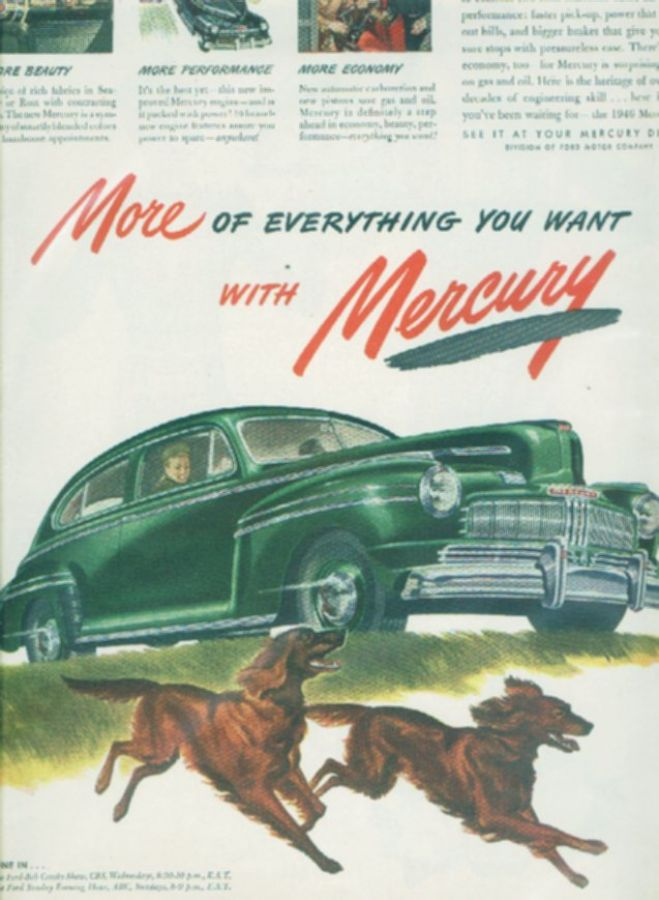 Vintage Car Advertisements Of The 1940s Page 4