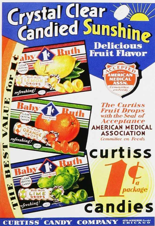 Vintage Candy Advertisements of the 1930s (Page 3)