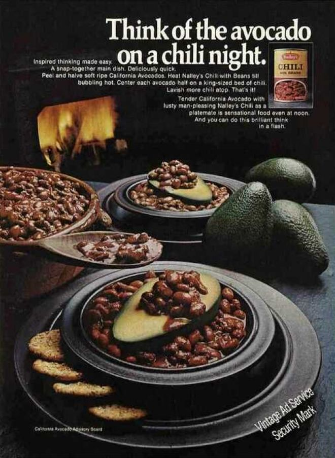 Vintage Food Advertisements of the 1970s