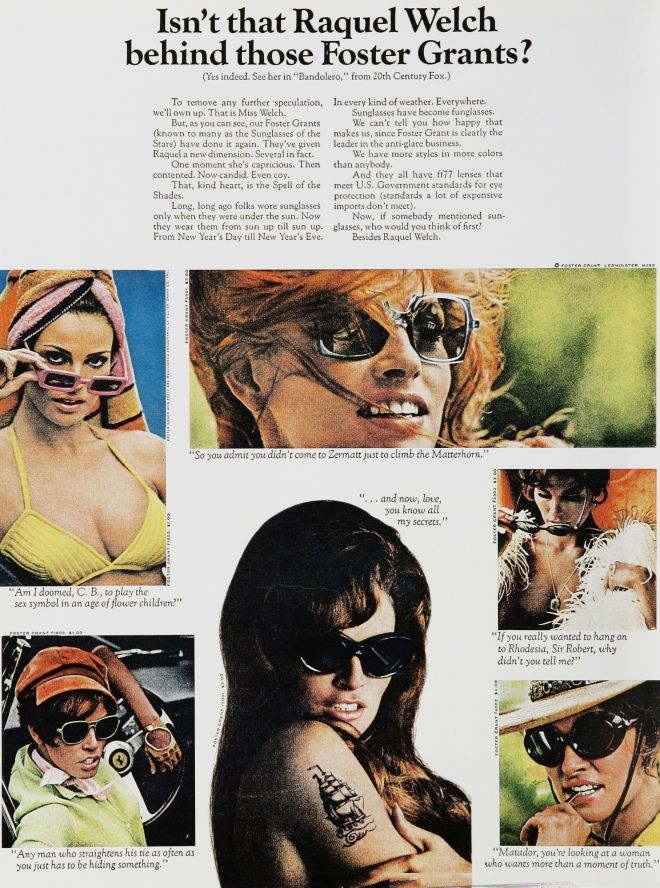 6c5a3e851a0 Vintage VIPs  Celebrities in Ads of the 1960s (Page 3)