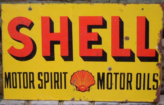 Vintage oil and gas ads of miscellaneous years Sale on motor oil