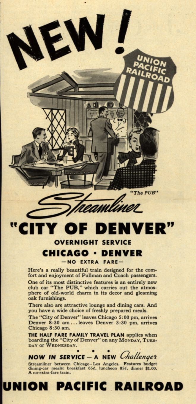 Vintage Transportation Ads Of The 1950s Page 30