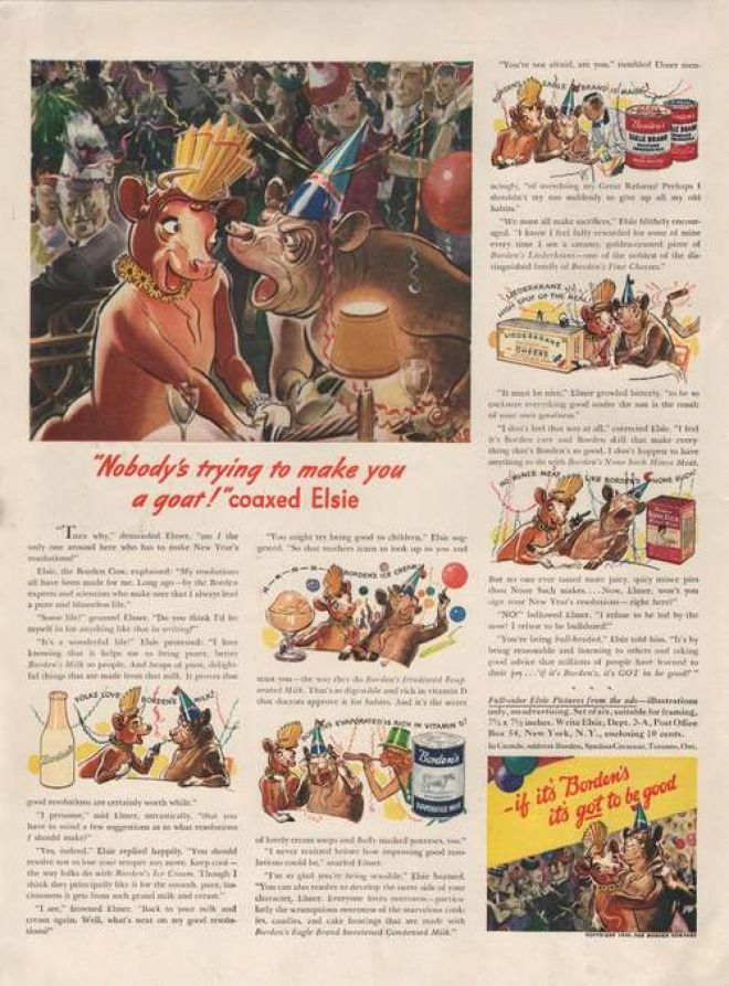 Vintage Food Advertisements Of The 1940s Page 32