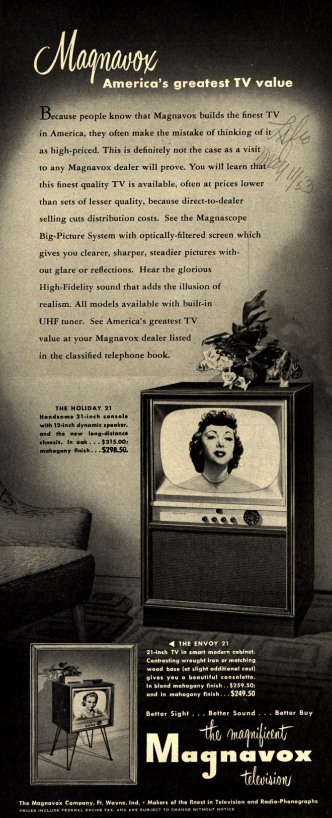 Vintage Electronics/ TV of the 1950s (Page 45)